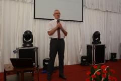 Prof. dr hab. Ryszard Hołownicki (Instytut Ogrodnictwa w Skierniewicach) opowiedział o przyjaznych dla środowiska technikach opryskiwania sadów