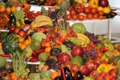 Hiszpańska ekspozycja owoców