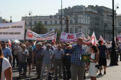 Protest sadowników pod Belwederem