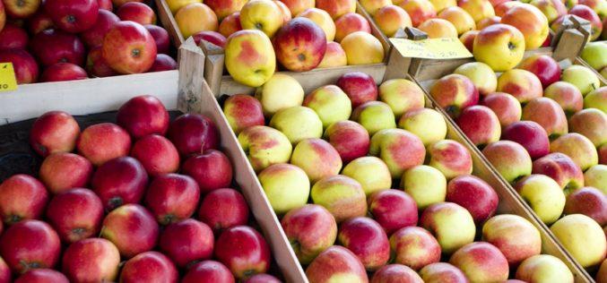Ceny jabłek wyższe niż przed rokiem
