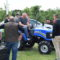 Pokazy pracy ciągników i maszyn sadowniczych w Warce