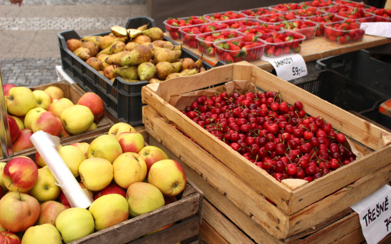 Wysokie ceny ostudziły rynek owoców?