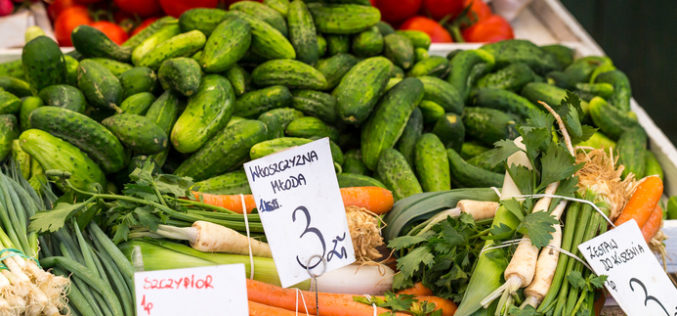 Jakie ceny za warzywa?