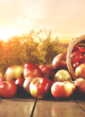 Spadek cen jabłek deserowych