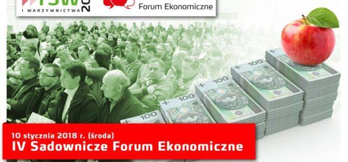 IV Sadownicze Forum Ekonomiczne na TSW 2018