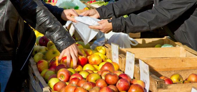 Obecny tydzień przyniósł spadek cen jabłek
