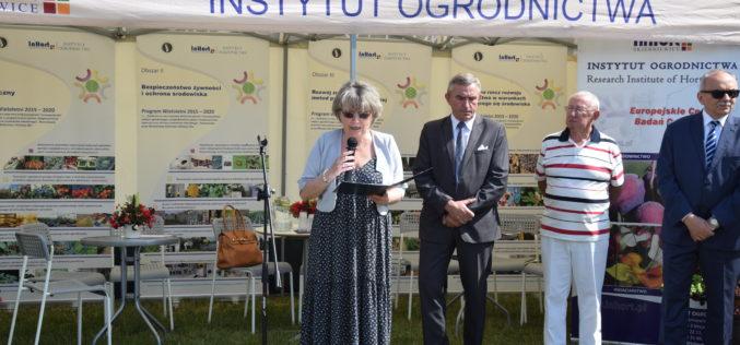 XXI Dzień Otwarty Instytutu Ogrodnictwa w Sadzie Doświadczalnym w Dąbrowicach